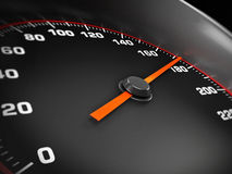 Speed gauge Royalty Free Stock Images