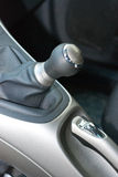 Speed gear stick Stock Photos