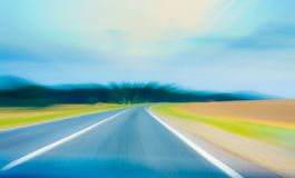 Speed. Highway Royalty Free Stock Photography
