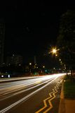 Speed highway - singapore Royalty Free Stock Images
