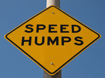 Speed Humps Royalty Free Stock Photos