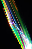 The Speed of Light. The colorful light trails of a fast spinning attraction on a funfair Royalty Free Stock Photos