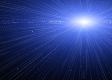 Speed of light. Stock Photography