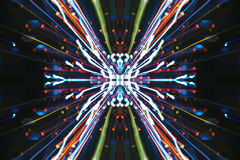 Speed of Light,abstract street Stock Photos