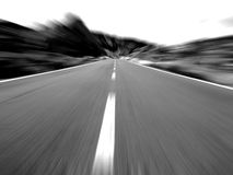 The speed limit Royalty Free Stock Photography