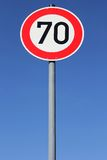 Speed limit  Royalty Free Stock Photo