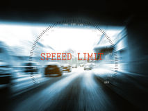 Speed limit Royalty Free Stock Images