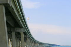 Speed Limit on the Overseas Highway Royalty Free Stock Image