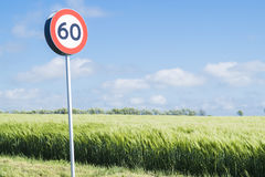 Speed limit Royalty Free Stock Image