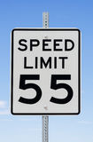 Speed Limit 55 Sign Royalty Free Stock Photos