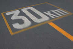 Speed limit sign 30 Stock Images