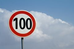 Speed Limited Royalty Free Stock Photo