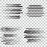 Speed lines Flying particles Fight stamp Manga graphic. Sun rays or star burst Royalty Free Stock Image