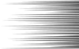 Speed lines set. Various speed lines set background, vector graphic artwork design element royalty free illustration