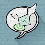 Speed mail Royalty Free Stock Images