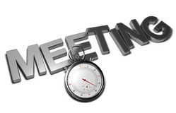 Speed Meeting Concept Royalty Free Stock Image
