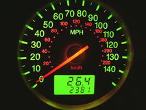Speed meter royalty free stock photo