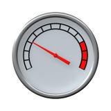 Speed meter royalty free illustration