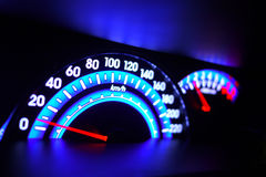 Speed meter Royalty Free Stock Photo