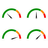Speed metering Color Stock Images