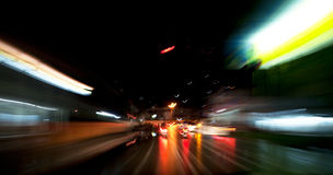 Speed Motion Blur Royalty Free Stock Photography