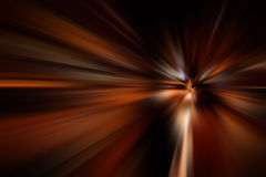 Speed motion blur on road at night Royalty Free Stock Photos