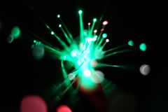 Speed motion lights stock images