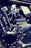 Speed motorcycle engine Royalty Free Stock Photography