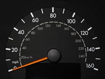 Speed Odometer Stock Photo