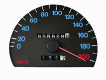 Speed over the limit Royalty Free Stock Photography