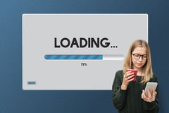 Speed Progress Bar Icon Technology Concept Royalty Free Stock Photography