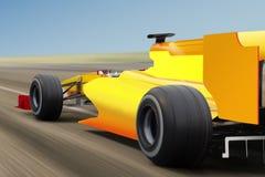 Speed race on road stock illustration