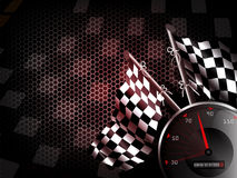 Speed racing background Stock Images
