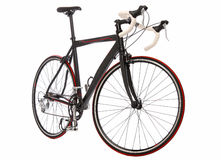 Speed racing bicycle stock photo