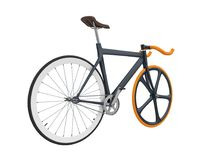 Speed Racing Bicycle Isolated. On white background. 3D render Royalty Free Stock Photos