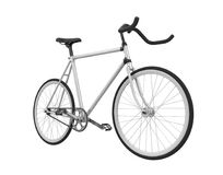Speed Racing Bicycle Isolated. On white background. 3D render Stock Photography