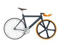Speed Racing Bicycle Isolated. On white background. 3D render Stock Photos
