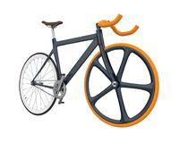 Speed Racing Bicycle Isolated. On white background. 3D render Stock Photo