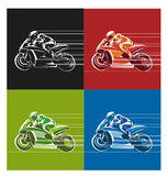 Speed racing icon or symbol Royalty Free Stock Photo