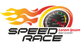 Speed Racing Logo Event Stock Images