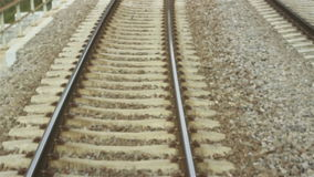 Speed Railroad View stock video