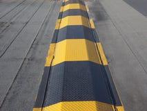 Speed ramp hump Stock Image