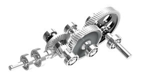 Speed reducer Royalty Free Stock Images