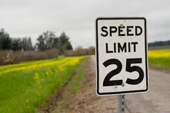 Speed Sign Royalty Free Stock Photo
