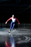 Speed skater start Royalty Free Stock Photography