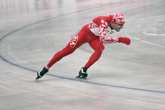 Speed skating Stock Photos