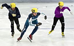 Speed Skating Stock Images