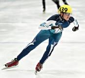Speed Skating Stock Image