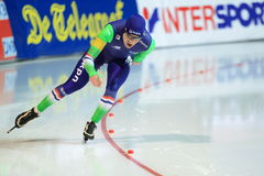 Speed skating - Bob de Jong Stock Image