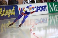 Speed skating - Pavel Kulizhnikov Stock Image